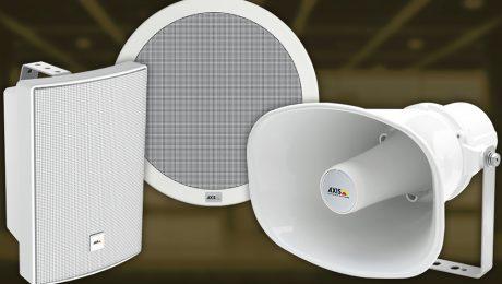 sistema de audio en red de AXIS